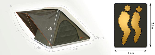Specifications & Rooftop Tent | Wild Earth